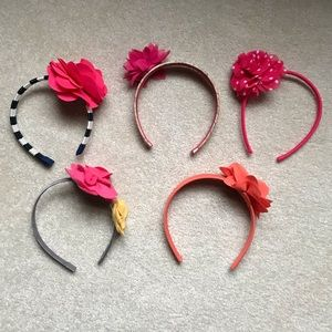 Bundle of 5 Gymboree Headbands